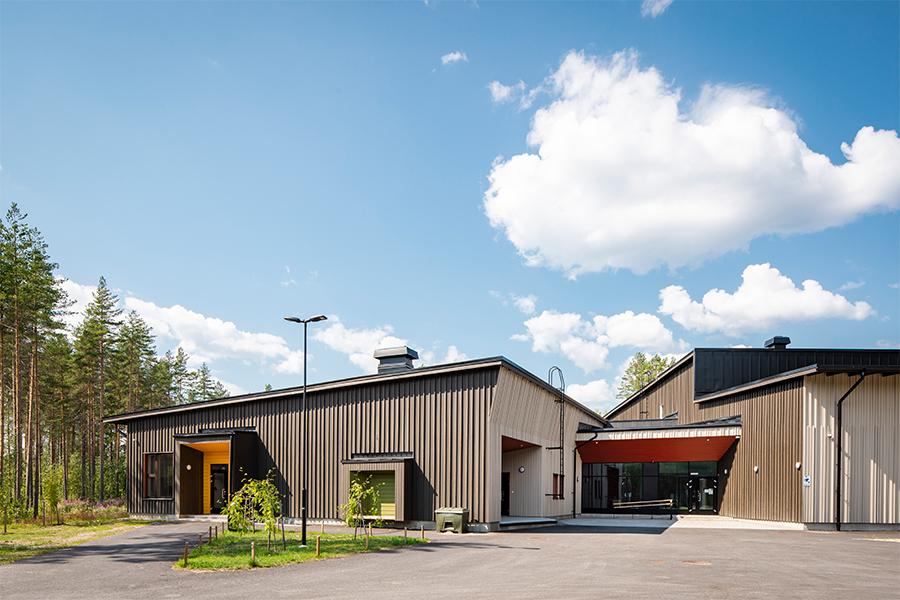 Erste umweltfreundliche Schule Finnlands
