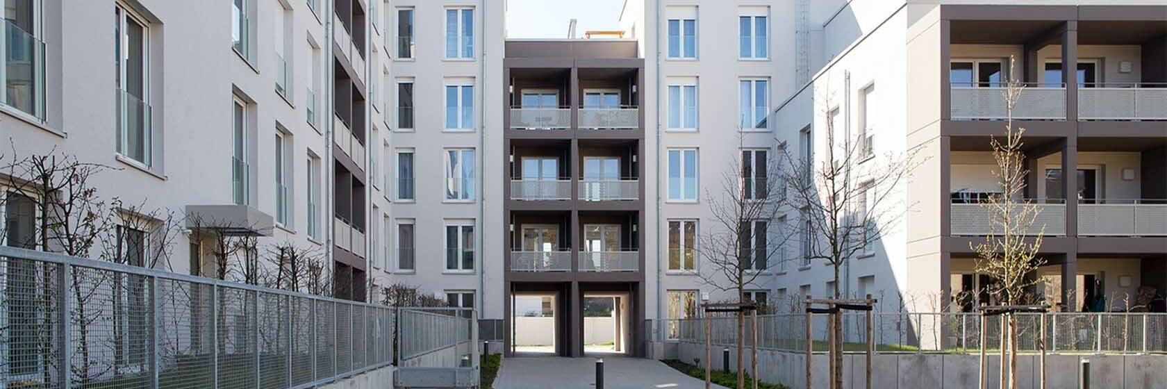 Wohnen auf dem ehemaligen VGF-Gelände, Frankfurt am Main