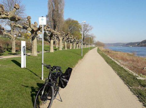 Machbarkeitsstudie zur Pendler-Radroute am Rhein