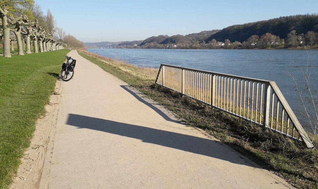 Machbarkeitsstudie für die Pendler-Radroute am Rhein