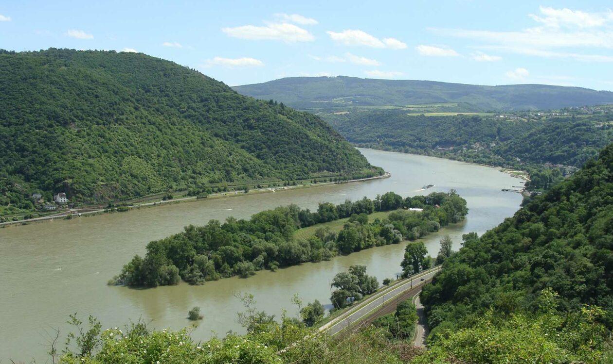 Sichtachsenstudie Mittelrheintal