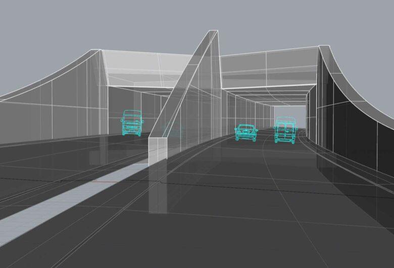 Tunnel Waldsiedlung