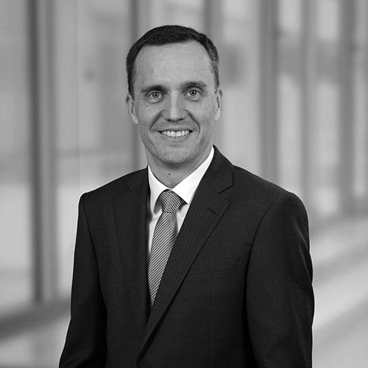 Hywel Hillman, Geschäftsfeldleiter Hochbau