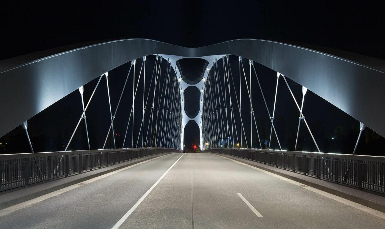 Frankfurt, Osthafenbrücke