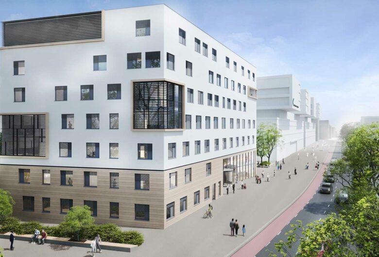 Klinikum Stuttgart Visualisierung