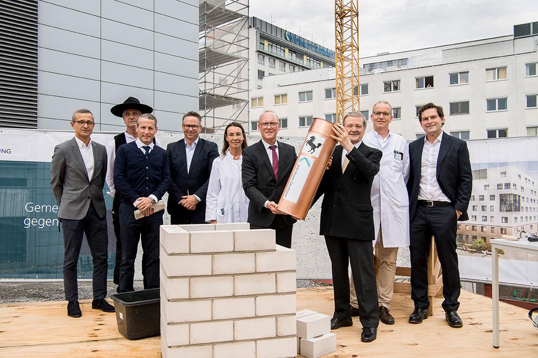 Grundsteinlegung – Neubau des Hauses G am Klinikum Stuttgart