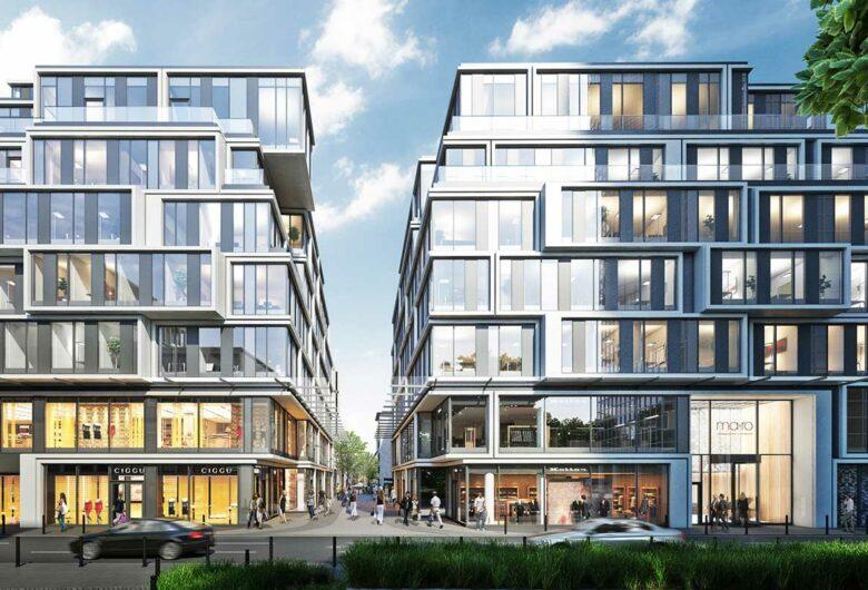 Büro- und Geschäftshaus-Ensemble, Neue Mainzer Straße, Frankfurt am Main