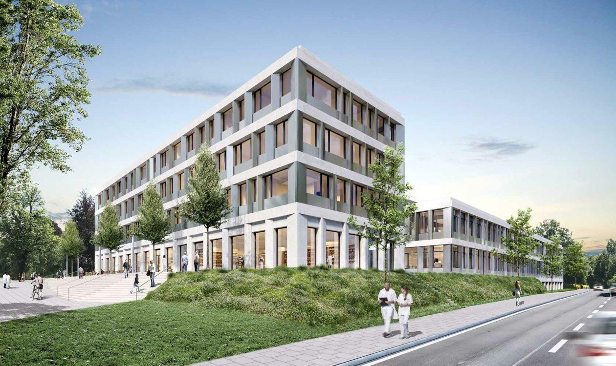 Baubeginn zur Erweiterung der Klinik Münchberg