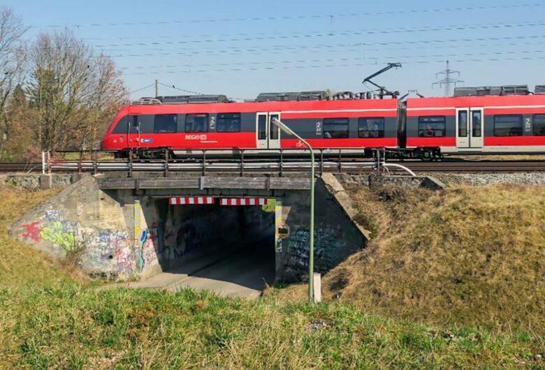 Erneuerung Eisenbahnüberführung Paosostraße